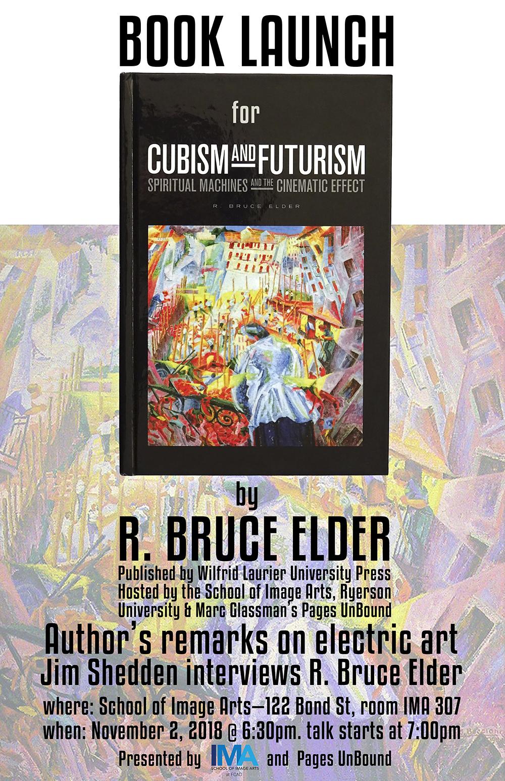 New Book Announcement: Cubism & Futurism – Spiritual Machines & the